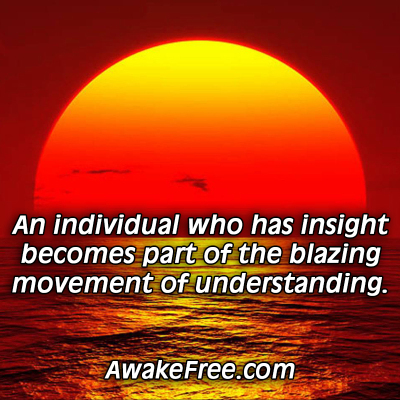 Blazing Movement of Understanding