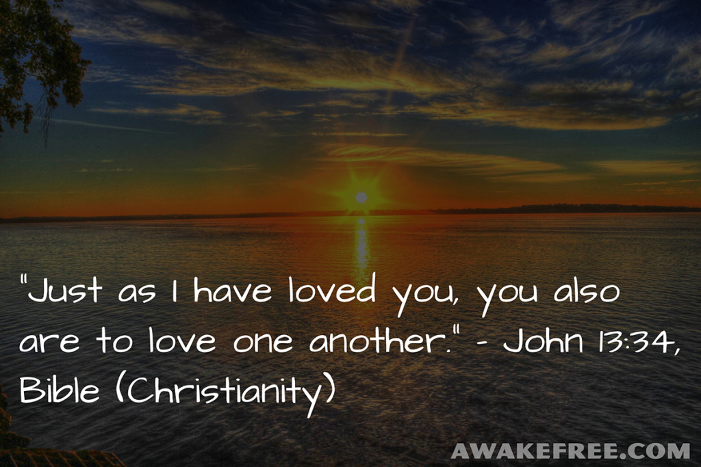 Peace-Quotes-Love-One-Another-John-Bible-Christianity-AwakeFree.com