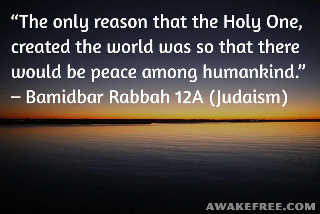 Peace-Quotes-So-There-Would-Be-Peace-Judaism-AwakeFree.com