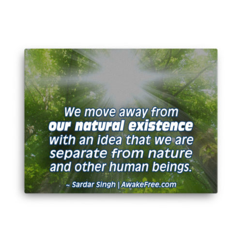 Our Natural Existence – An Inspiring Canvas Print – Ready to Hang